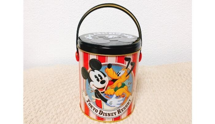 ディズニーお土産〈ポップコーン缶〉紹介画像
