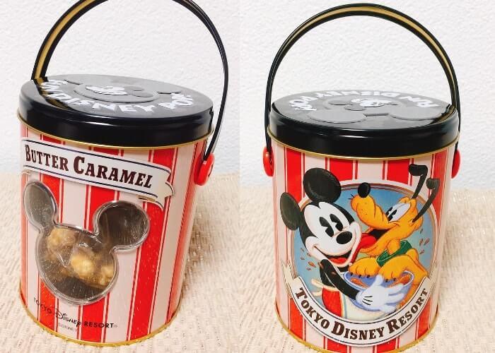 ディズニーお土産〈ポップコーン缶〉全体