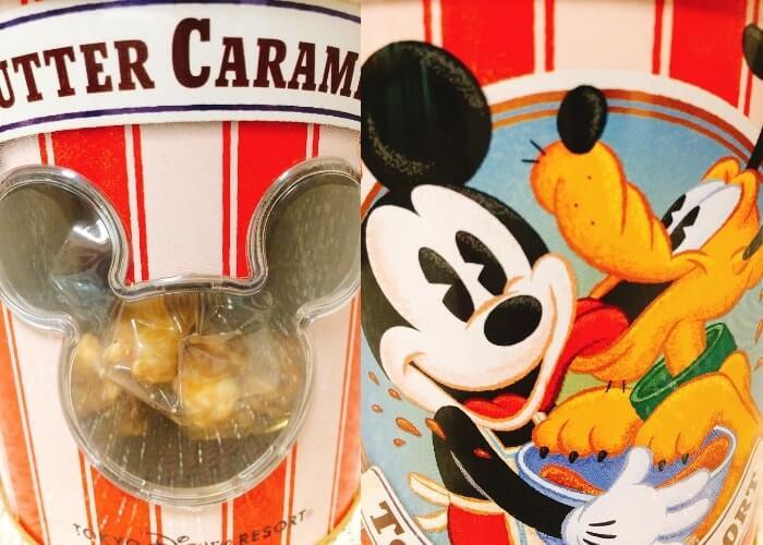 ディズニーお土産〈ポップコーン缶〉デザイン