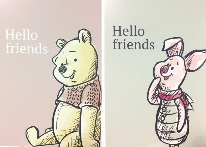 『プーと大人になった僕』ポストカード2