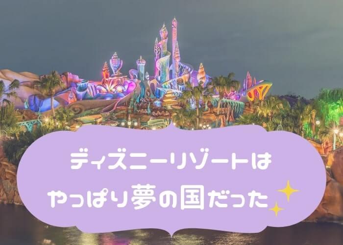 東京ディズニーリゾート<まとめ>