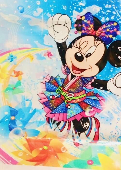 ディズニー夏祭り&パイレーツサマー2018のお土産袋<中>隠れミッキー寄り