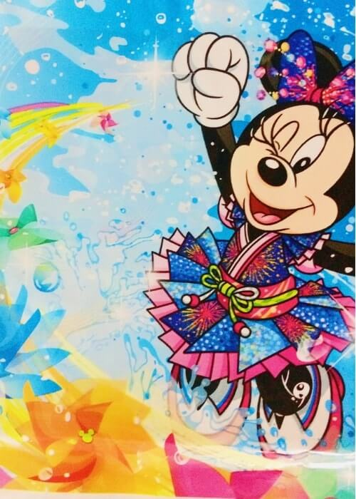 ディズニー夏祭り&パイレーツサマー2018のお土産袋<小(取手付)>隠れミッキー寄り