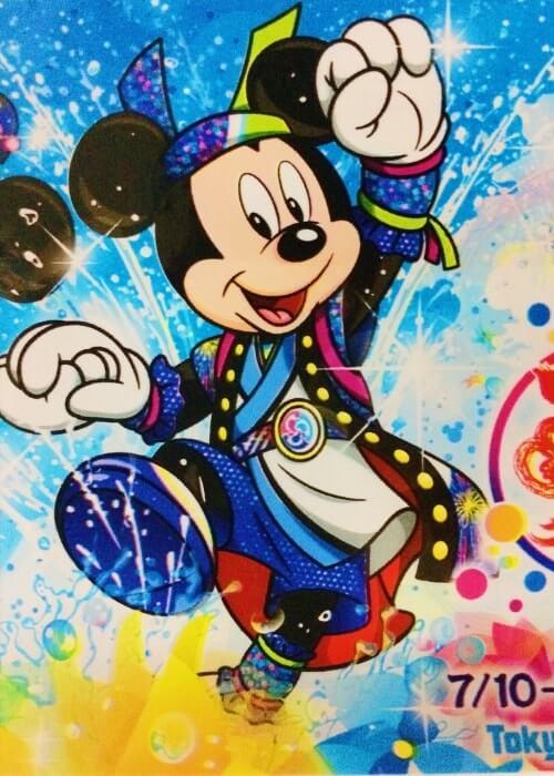 ディズニー夏祭り&パイレーツサマー2018のお土産袋<小>隠れミッキー寄り