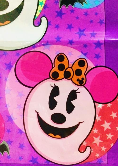 お土産袋・裏<ディズニーハロウィン2013>隠れミッキー寄り