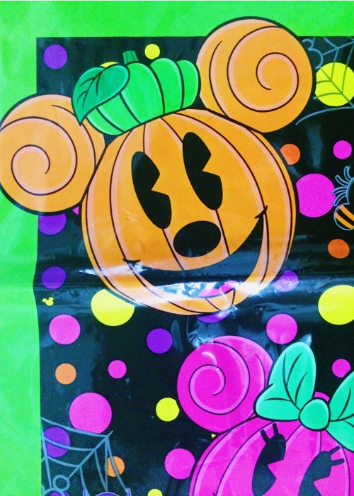 お土産袋・表<ディズニーハロウィン2013>隠れミッキー寄り