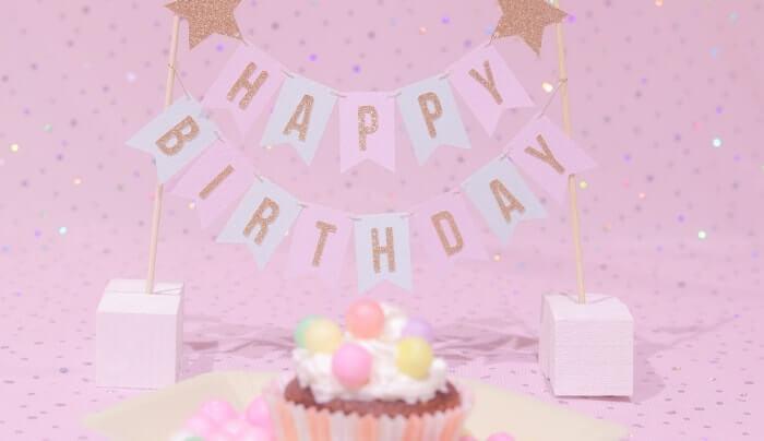 チックタックダイナーのケーキでお祝い♪
