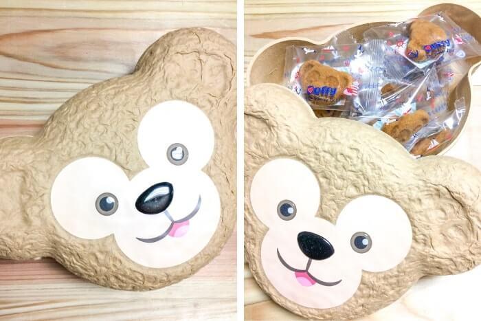 ダッフィーグッズのお菓子「フィナンシェ」ケース