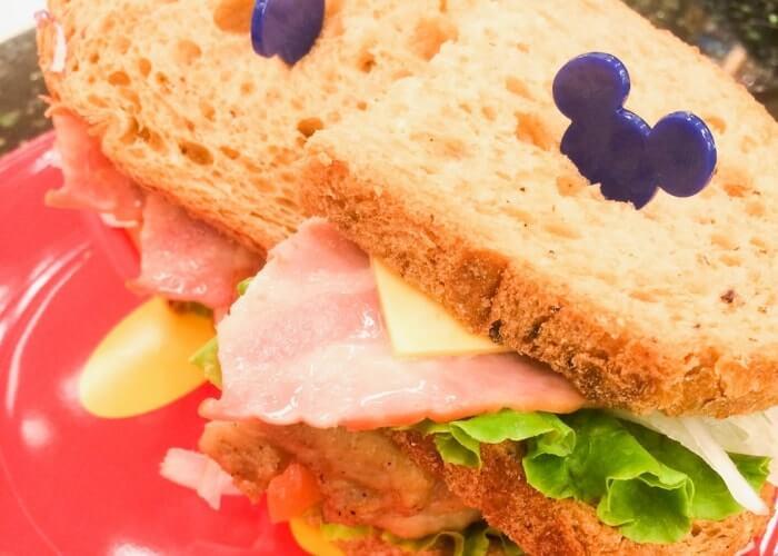 チックタックダイナーのサンドイッチメニュー