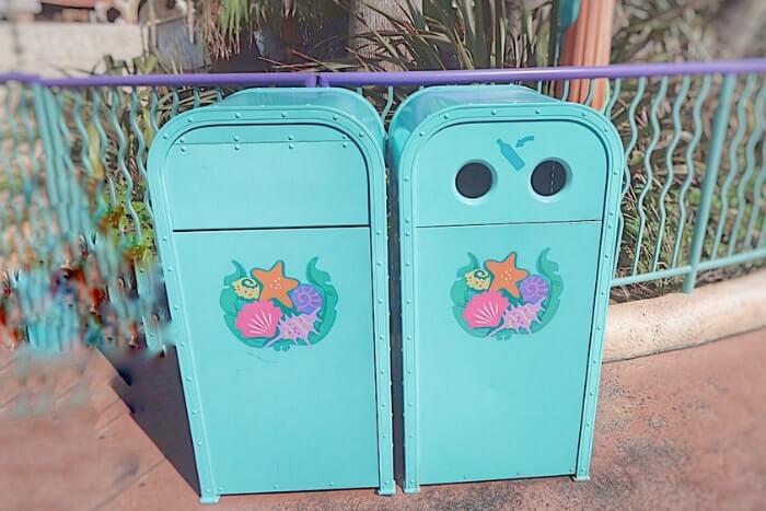 紋章などデザイン付きゴミ箱(トラッシュカン)種類⑥<ディズニーシー>