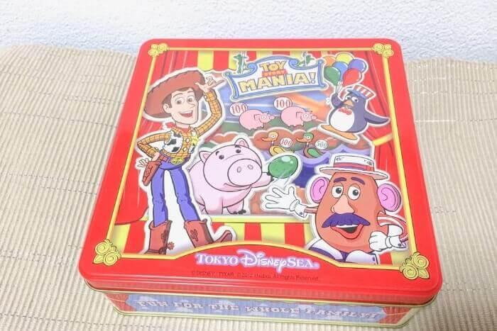 トイストーリーマニアのお菓子グッズ(ディズニーシーお土産)