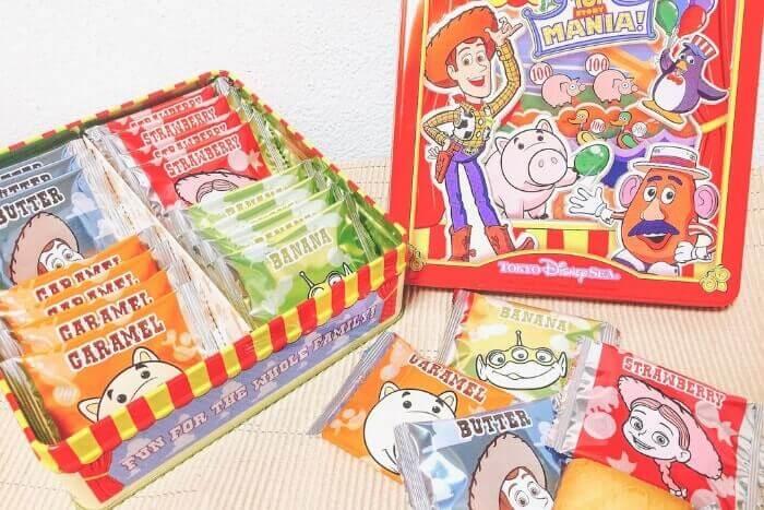 トイストーリーマニアのお菓子グッズ開封(ディズニーシーお土産)