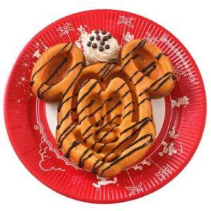 ミッキーワッフル チョコレートソース