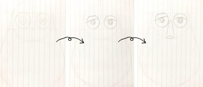 バズ・ライトイヤー(トイ・ストーリー)のイラストの描き方2