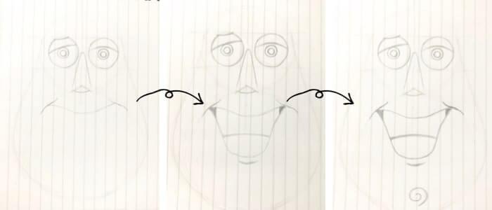 バズ・ライトイヤー(トイ・ストーリー)のイラストの描き方3