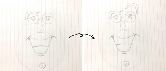 バズ・ライトイヤー(トイ・ストーリー)のイラストの描き方4