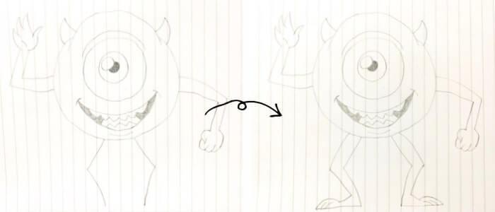 マイクワゾウスキのイラストの描き方5