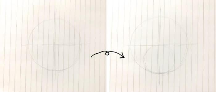 プーさんのイラストの描き方1